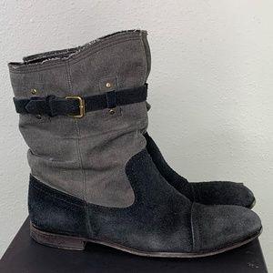 Cloak suede desert boot by Alexandre Plokhov